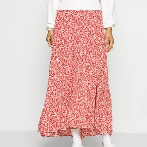 Abercrombie & Fitch micro floral maxi skirt sz S